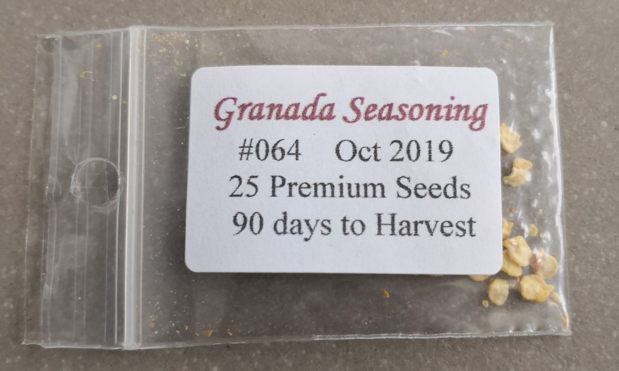 Granada Seasoning Pepper Seeds